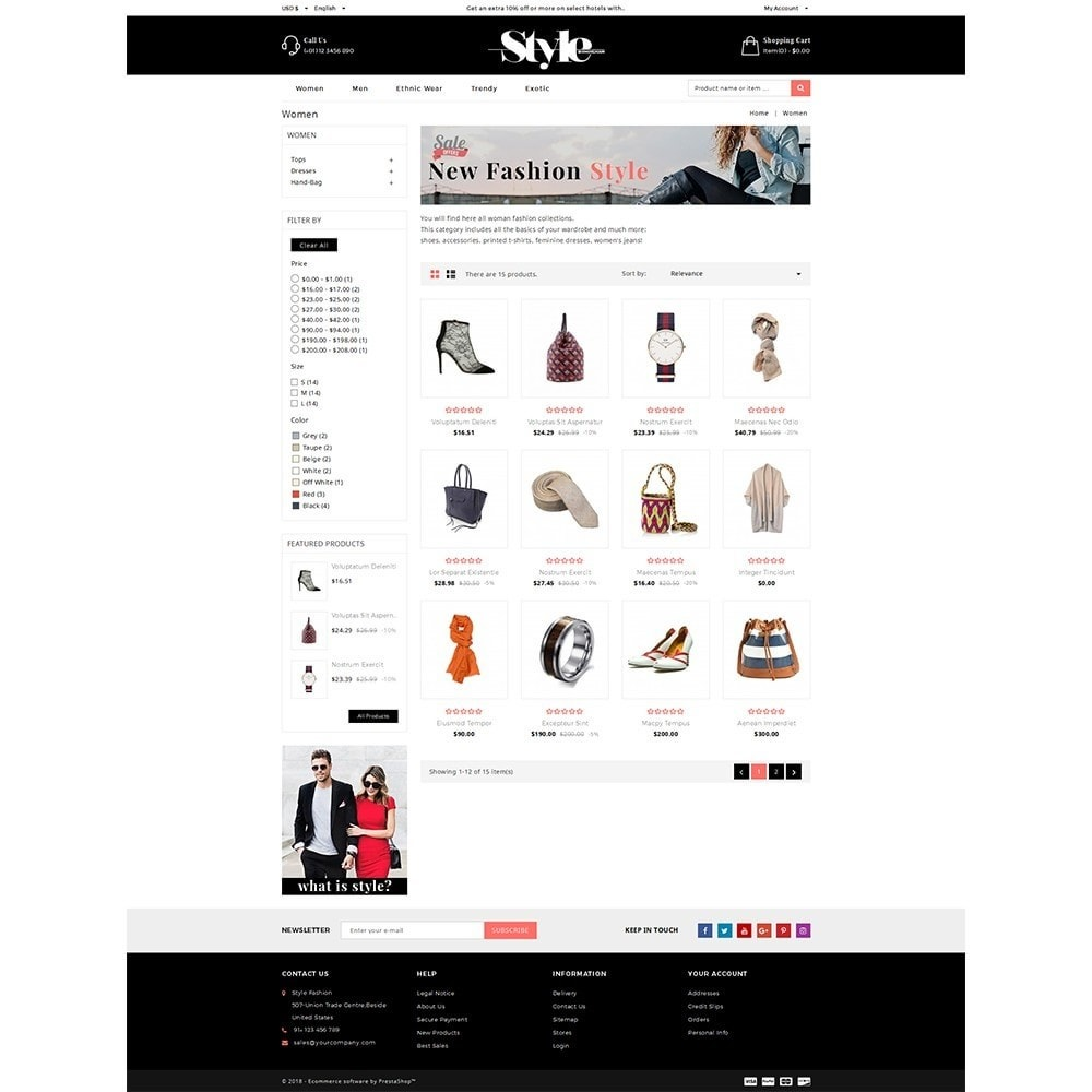 theme - Fashion & Shoes - Style Fashion Store - 4