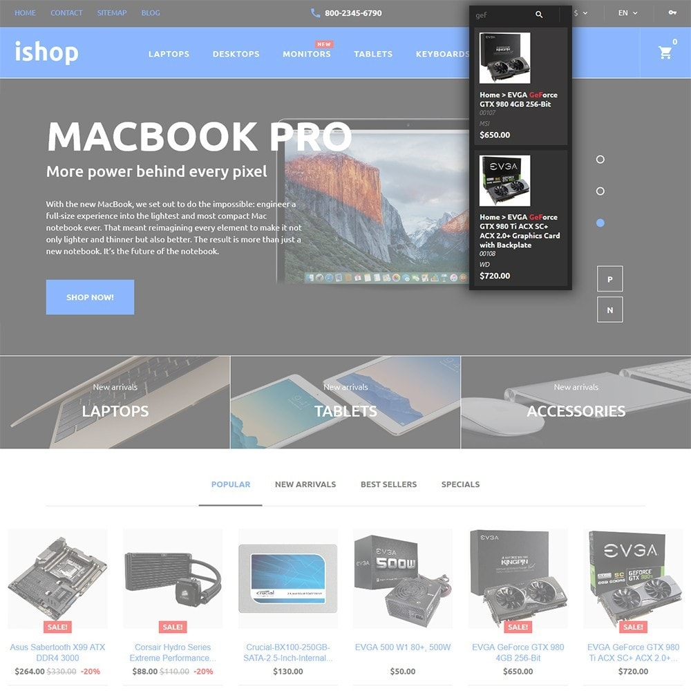 theme - Elettronica & High Tech - iShop - Computer Store - 6