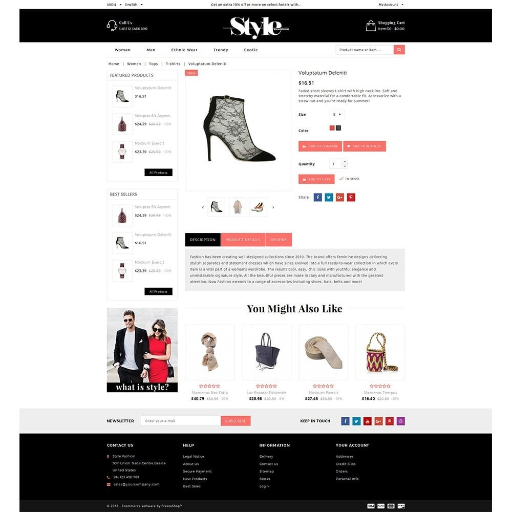 theme - Fashion & Shoes - Style Fashion Store - 5