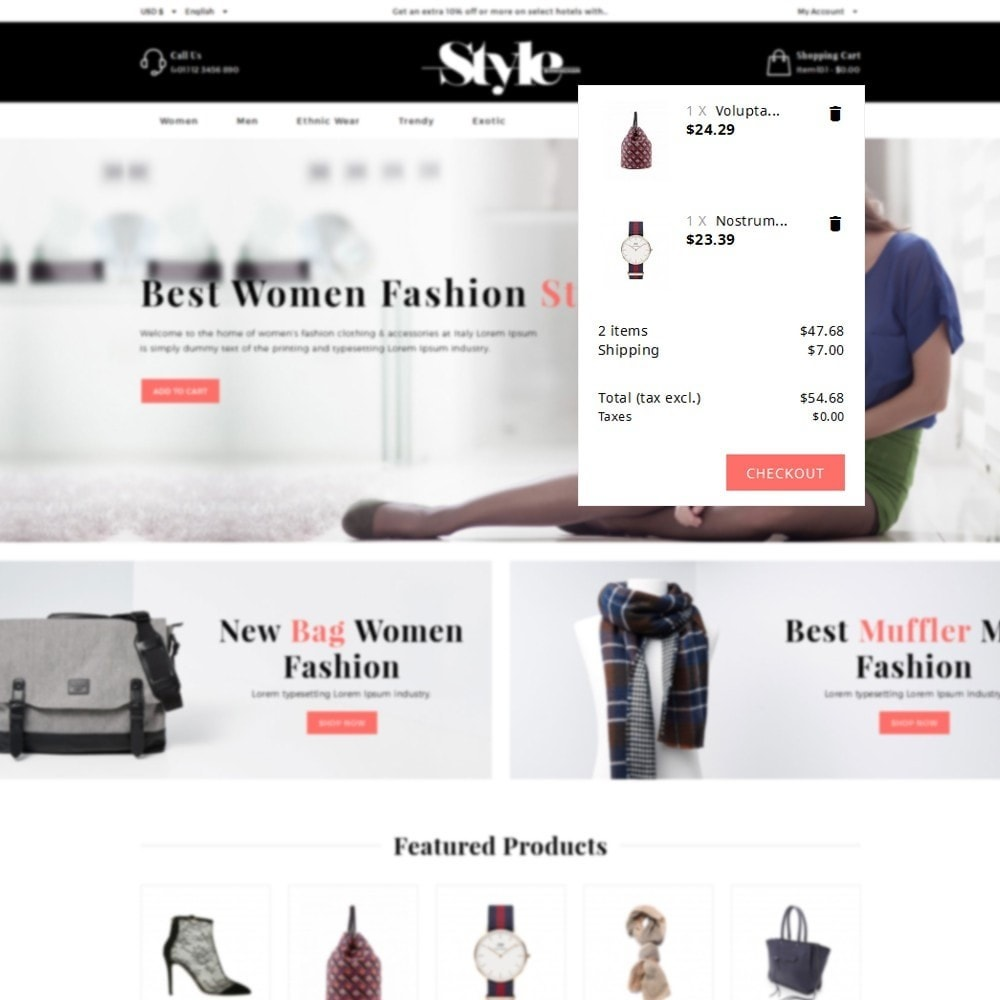 theme - Fashion & Shoes - Style Fashion Store - 8