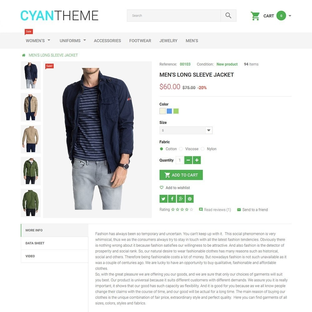 theme - Moda & Calçados - CyanTheme - Fashion Store - 3