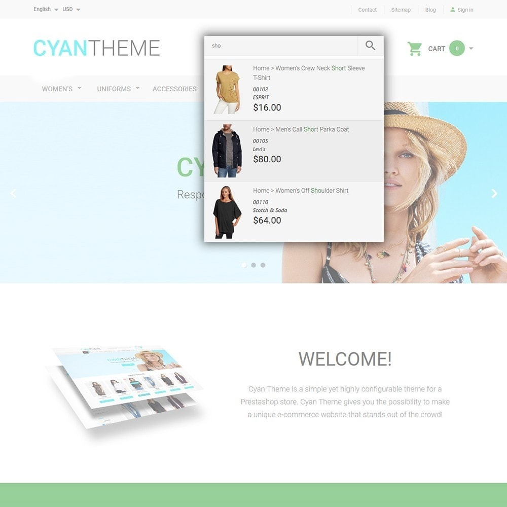 theme - Moda & Calçados - CyanTheme - Fashion Store - 6