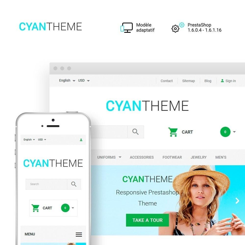 theme - Mode & Chaussures - CyanTheme - Fashion Store - 1