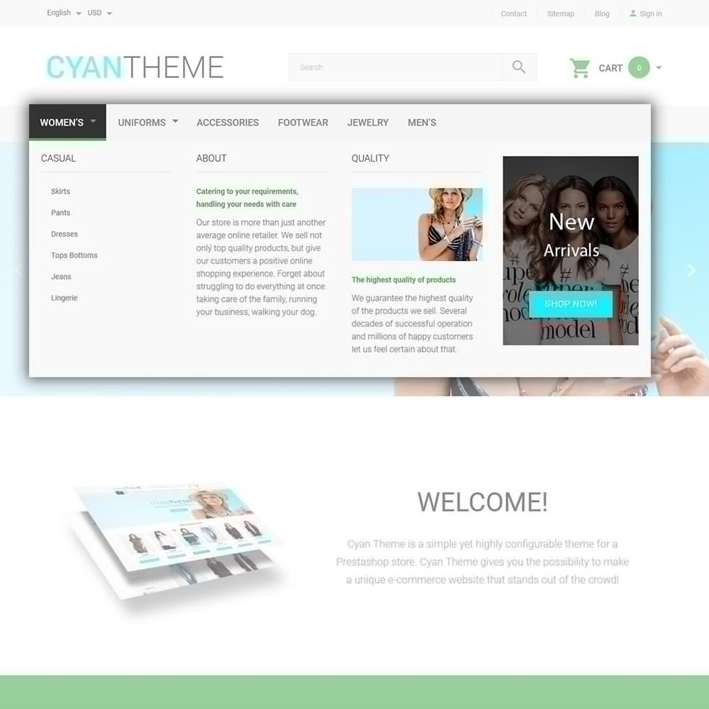 theme - Mode & Chaussures - CyanTheme - Fashion Store - 5