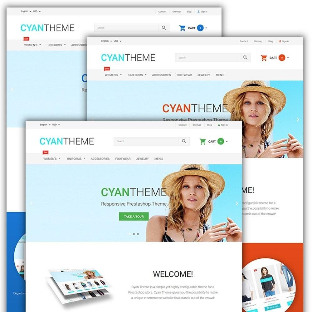 theme - Moda & Calzature - CyanTheme - Fashion Store - 2