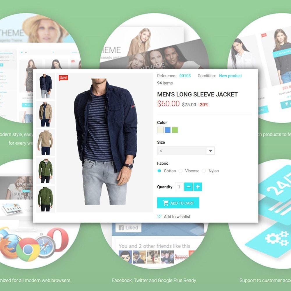 theme - Moda & Calzature - CyanTheme - Fashion Store - 4