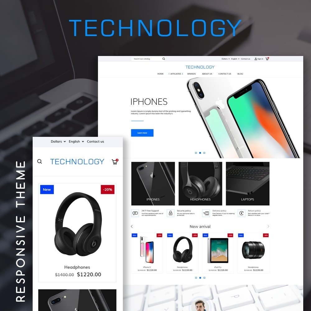 theme - Electronics & Computers - Technology - High-tech Shop - 1