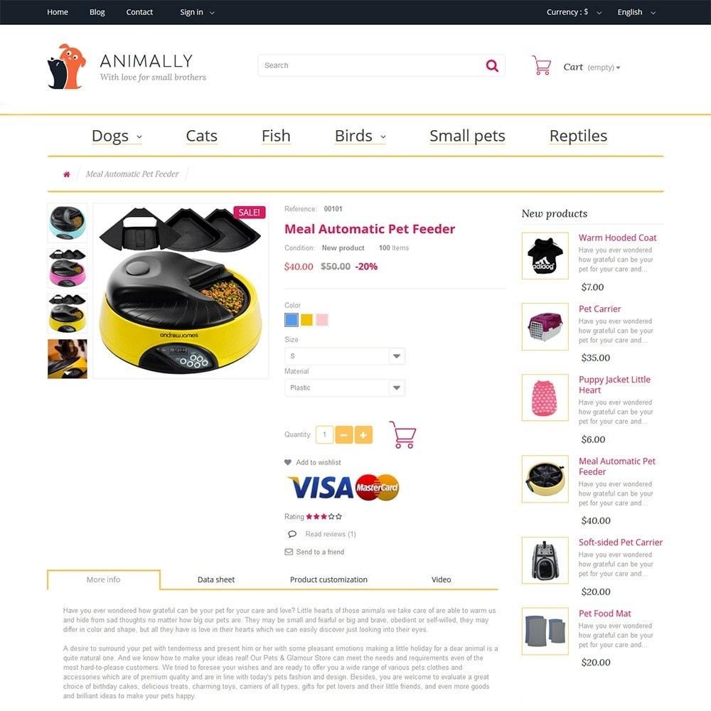 theme - Animales y Mascotas - Animally - Animals & Pets - 3