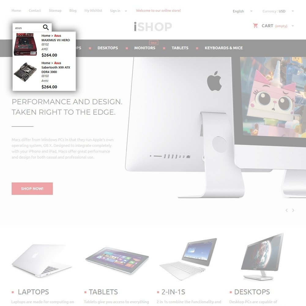 theme - Electronics & Computers - iShop - 6