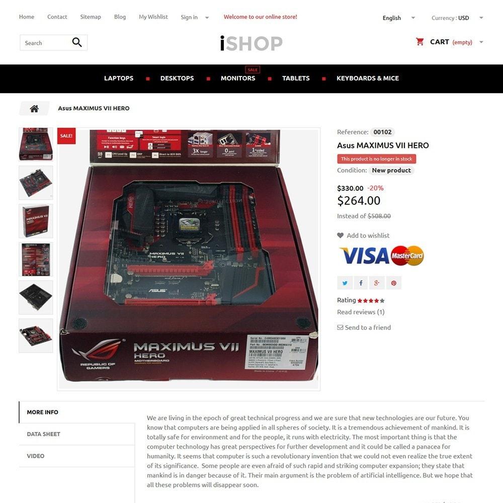 theme - Electronique & High Tech - iShop - 3