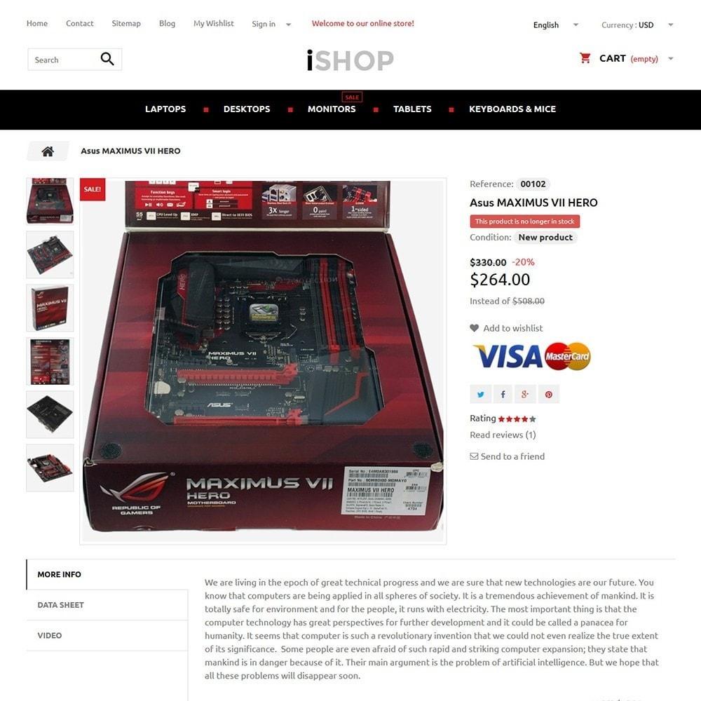 theme - Electrónica e High Tech - iShop - 3