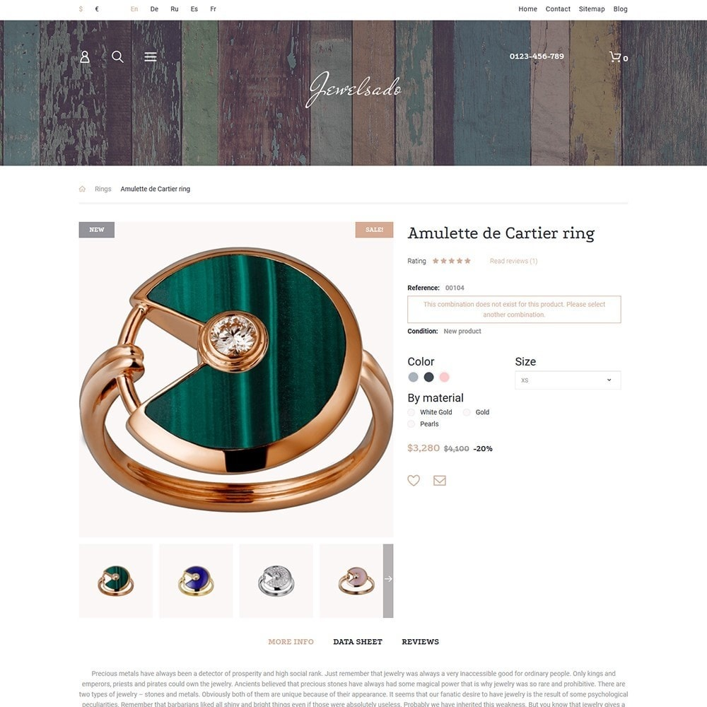 theme - Mode & Schoenen - Jewelsado - Jewelry Store - 3