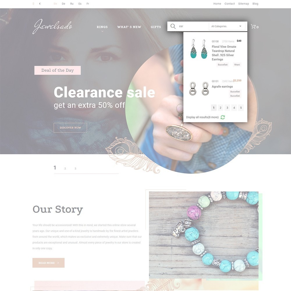 theme - Mode & Schoenen - Jewelsado - Jewelry Store - 6