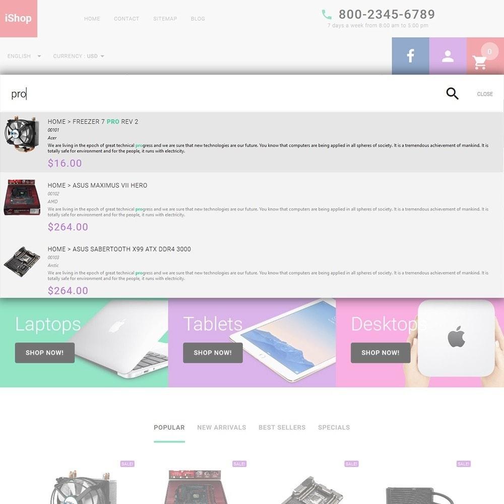 theme - Electronique & High Tech - iShop - White Computer Store - 6