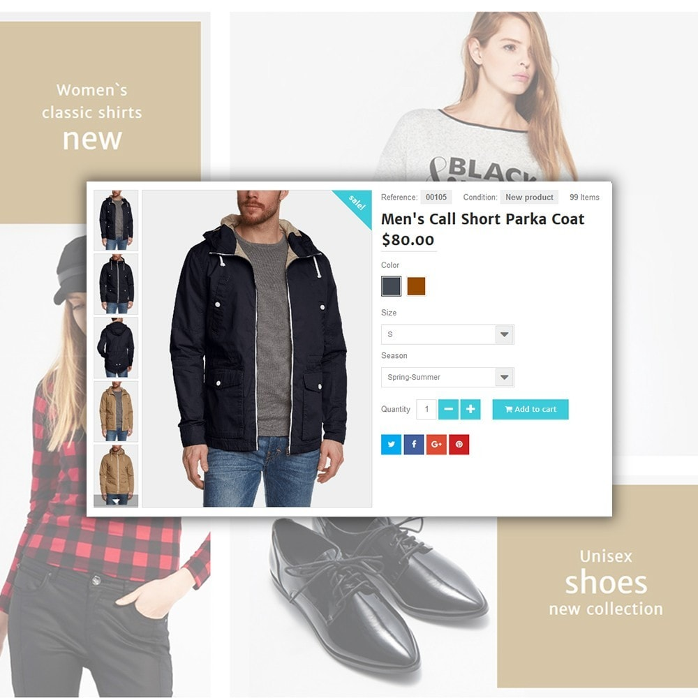 theme - Mode & Chaussures - Shopsys - Trendy Clothes - 5