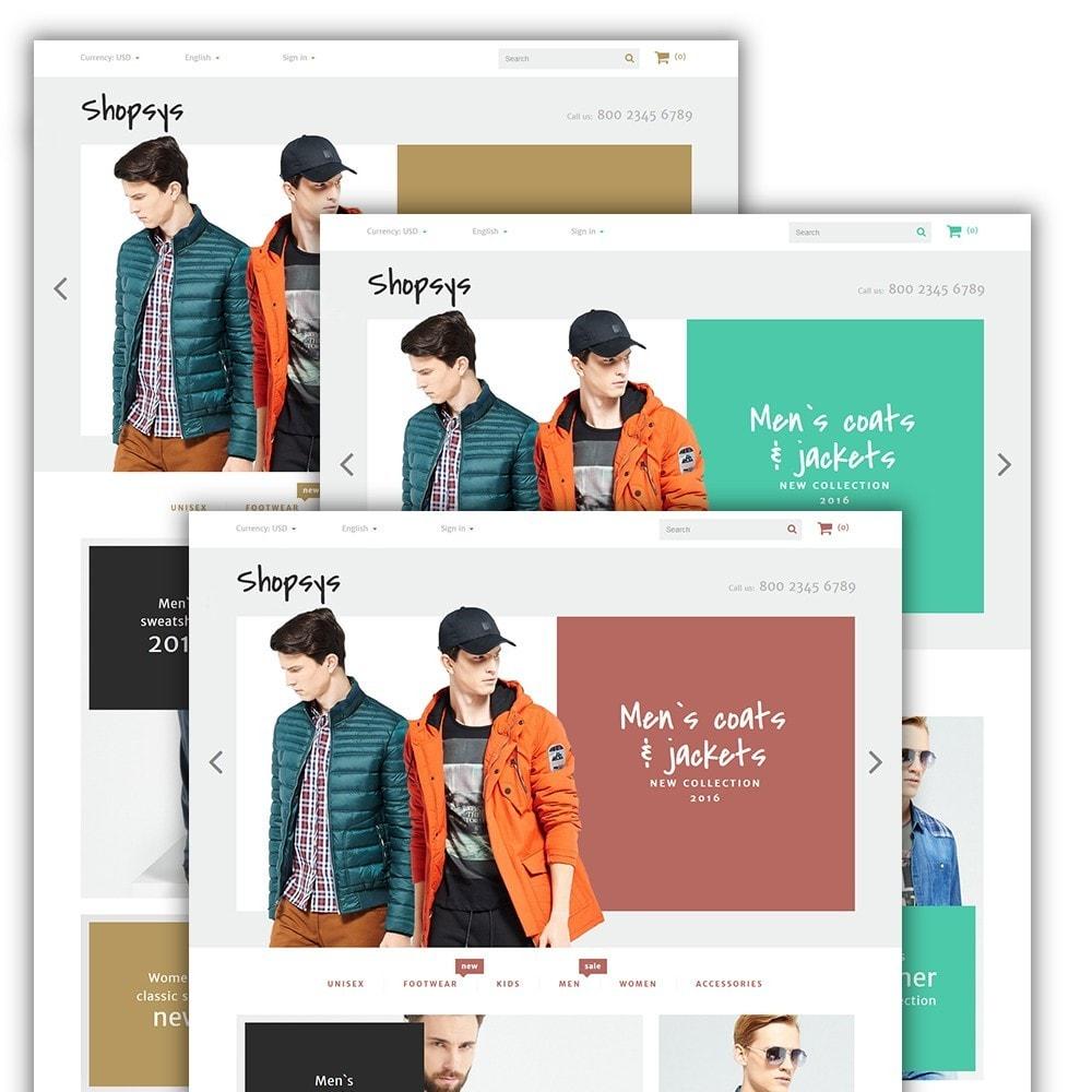 theme - Moda y Calzado - Shopsys - Trendy Clothes - 2