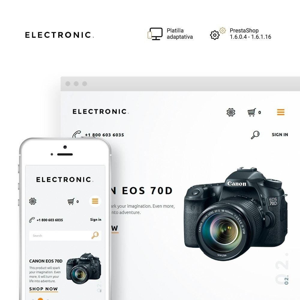 theme - Electrónica e High Tech - Electronic - White Electronics Store - 1