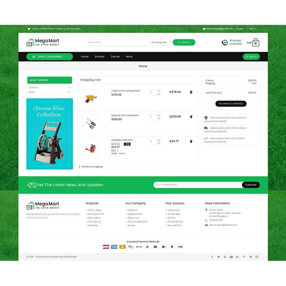 theme - Home & Garden - Mega Mart Gardening Tools - 6