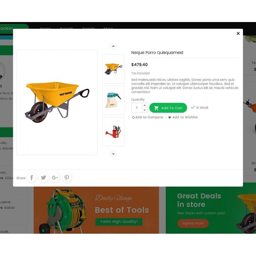 theme - Home & Garden - Mega Mart Gardening Tools - 8