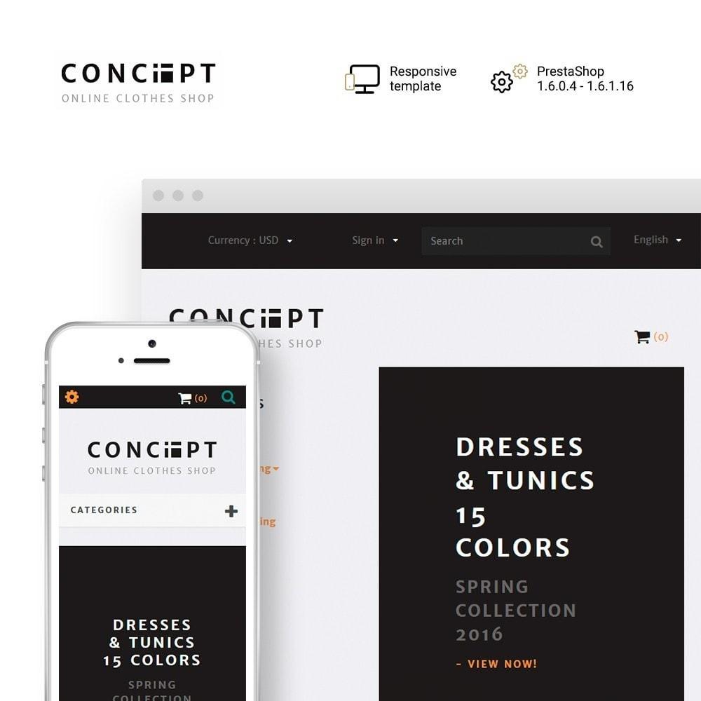 theme - Fashion & Shoes - Concept - Apparel Store - 1