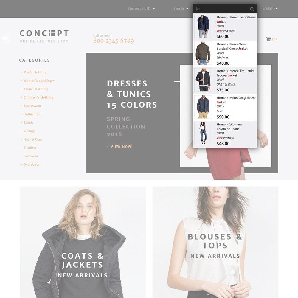 theme - Moda & Calçados - Concept - Apparel Store - 5