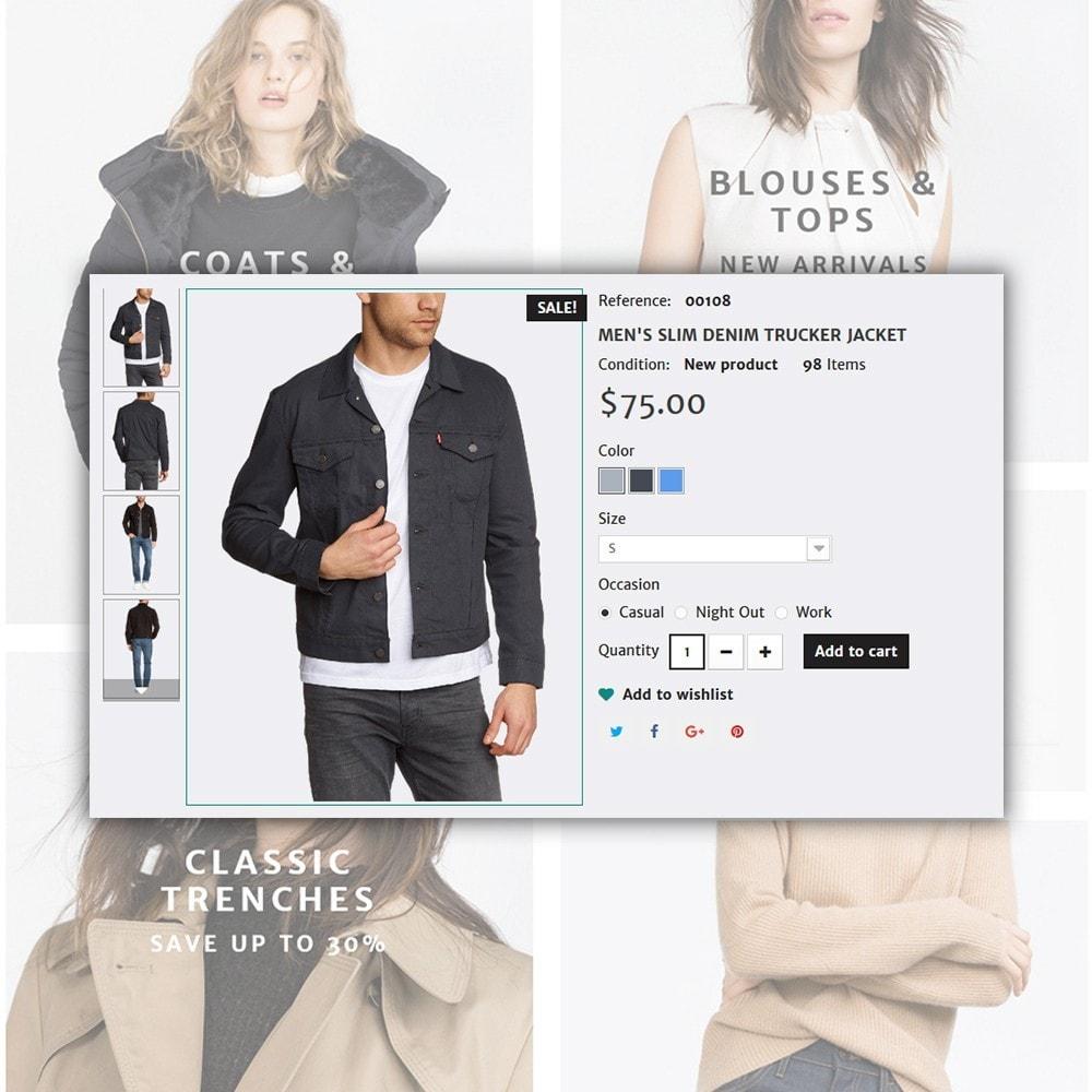 theme - Moda & Calçados - Concept - Apparel Store - 6