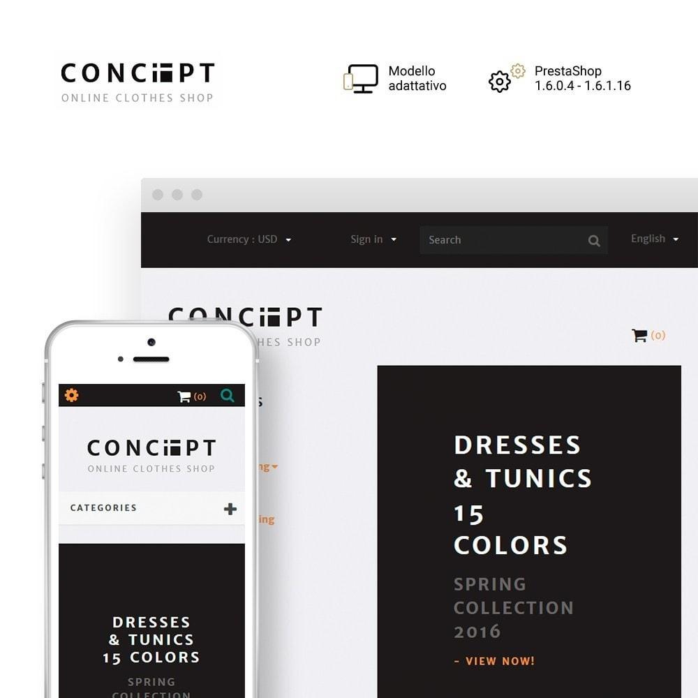 theme - Moda & Calzature - Concept - Apparel Store - 1