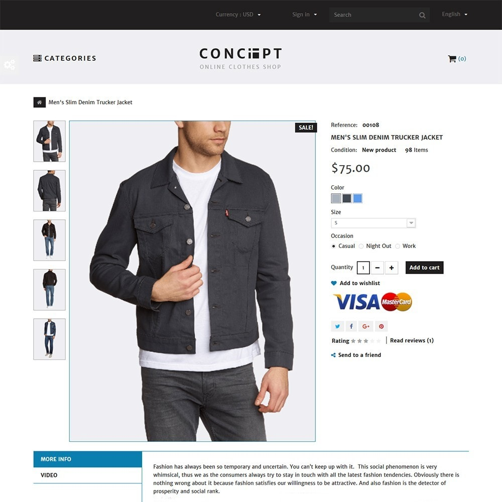 theme - Moda & Calzature - Concept - Apparel Store - 3