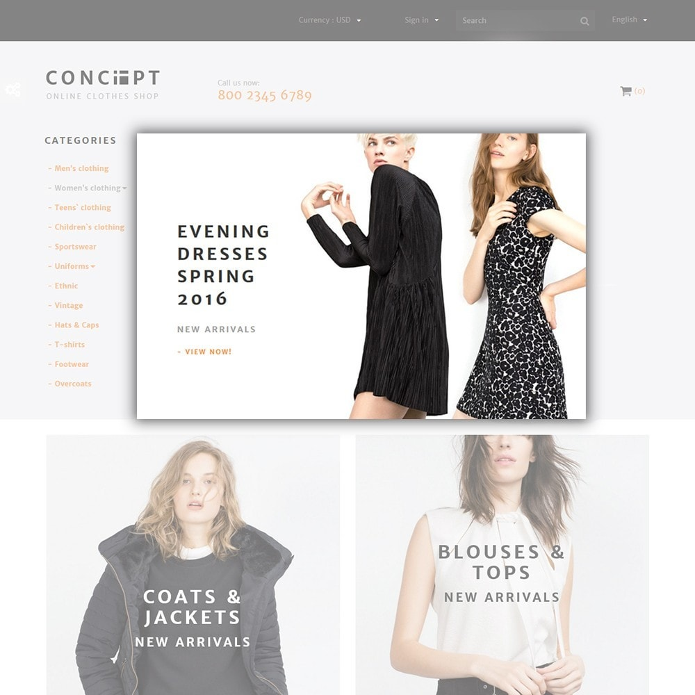 theme - Moda & Calzature - Concept - Apparel Store - 4