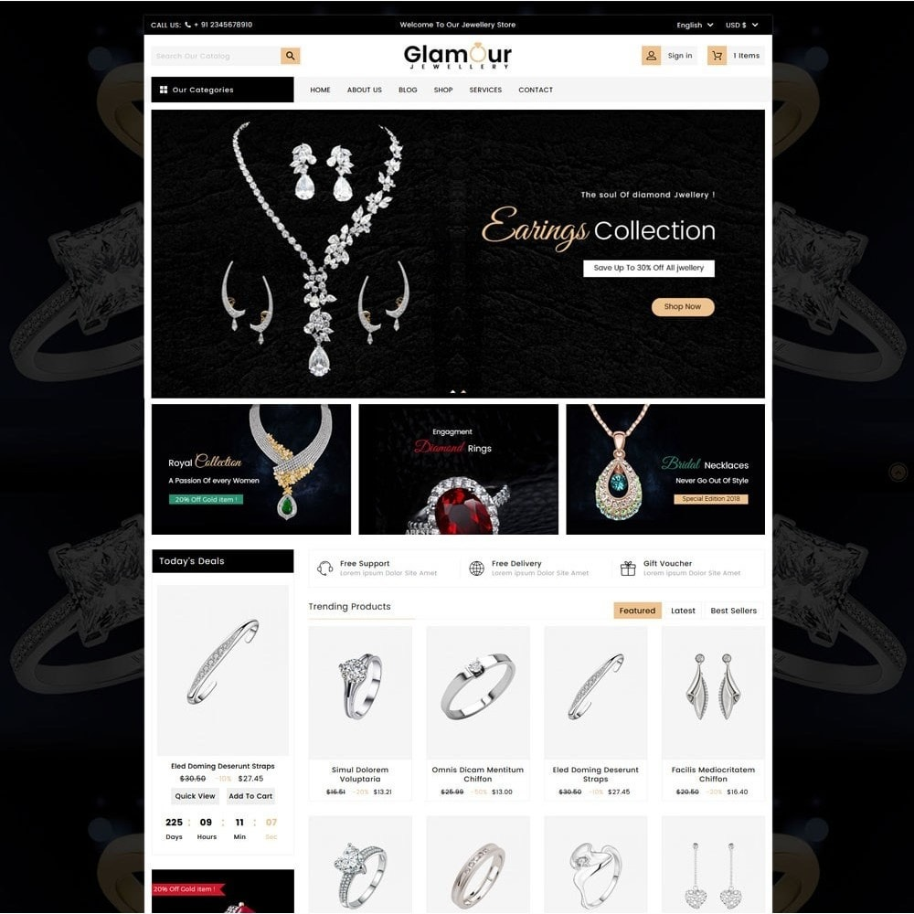 theme - Sieraden & Accessoires - Glamour Jewellery - 2