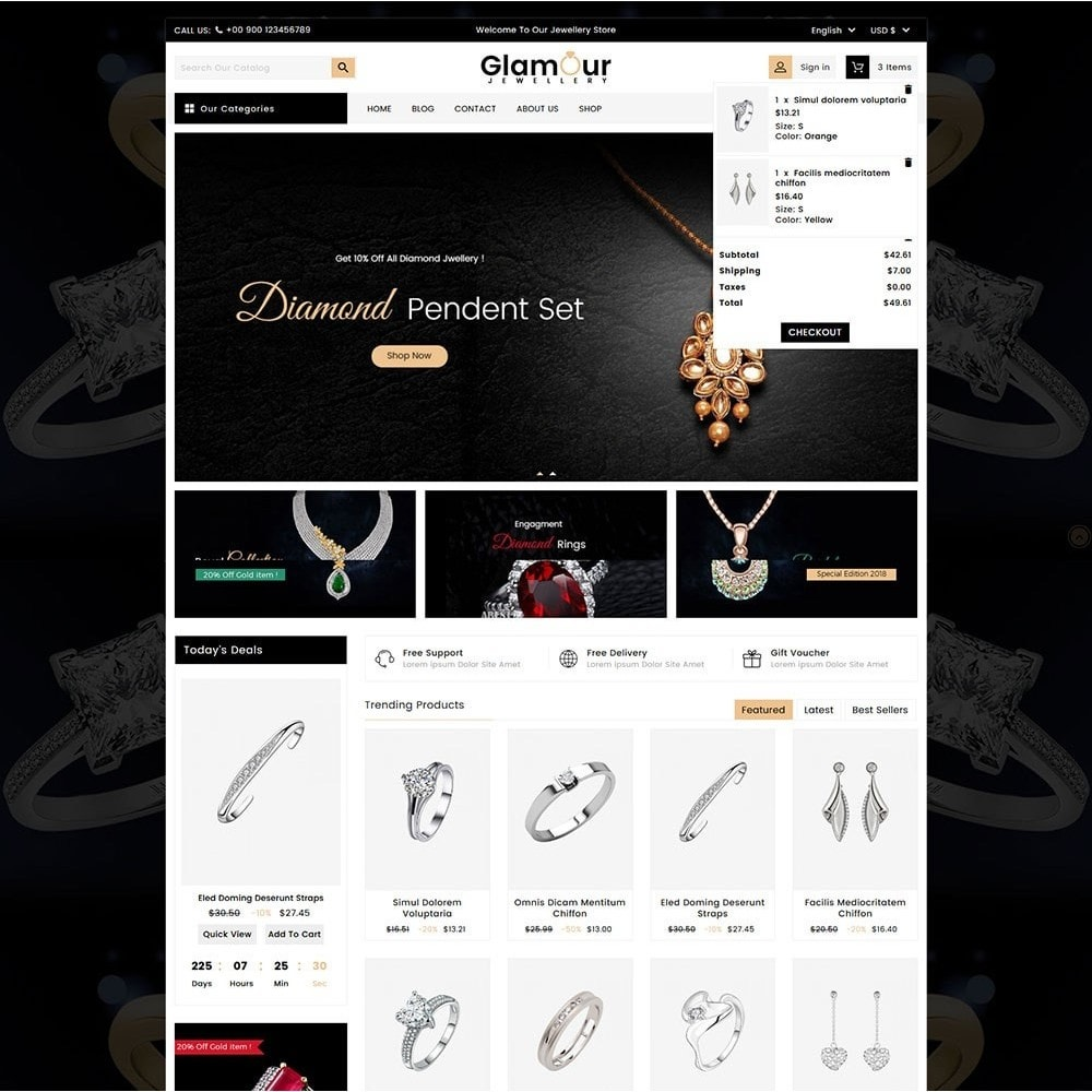 theme - Sieraden & Accessoires - Glamour Jewellery - 3