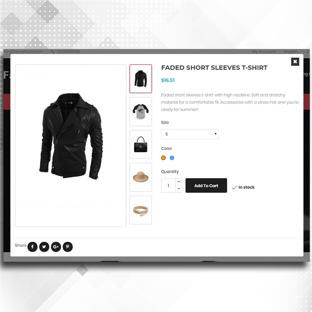 theme - Moda y Calzado - Fashion Shop -  Fashion Store Template - 7