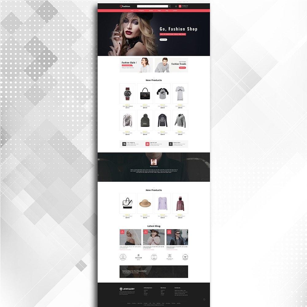 theme - Moda & Calzature - Fashion Shop -  Fashion Store Template - 3