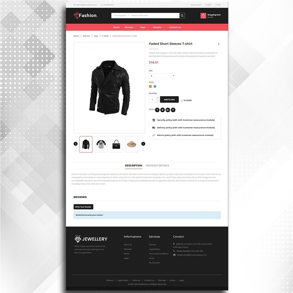 theme - Moda & Calzature - Fashion Shop -  Fashion Store Template - 6