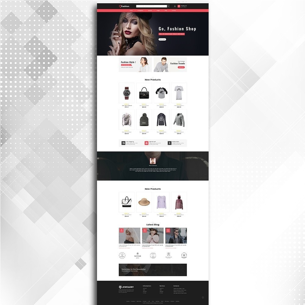 theme - Moda & Obuwie - Fashion Shop -  Fashion Store Template - 3