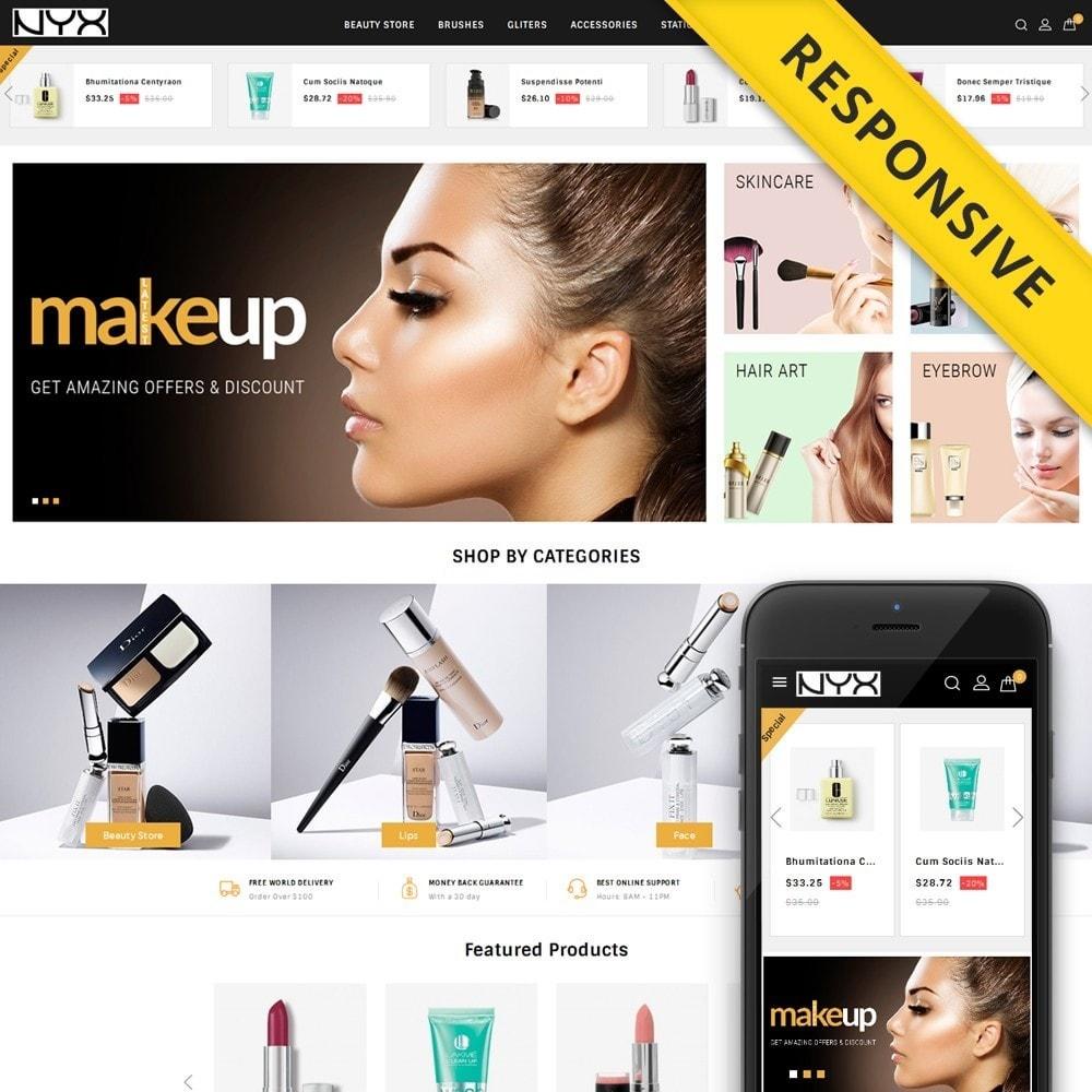 theme - Moda & Calçados - NYX - Cosmetic Store - 1