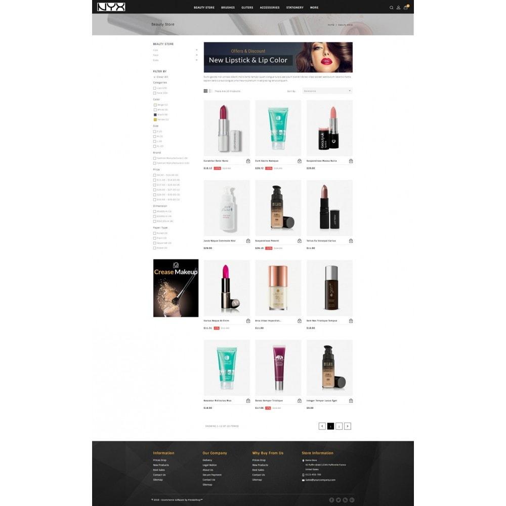 theme - Moda & Calçados - NYX - Cosmetic Store - 3
