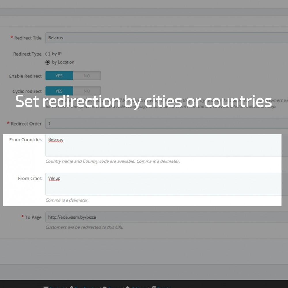 module - Internationalisierung & Lokalisierung - GeoIP Redirect - 2