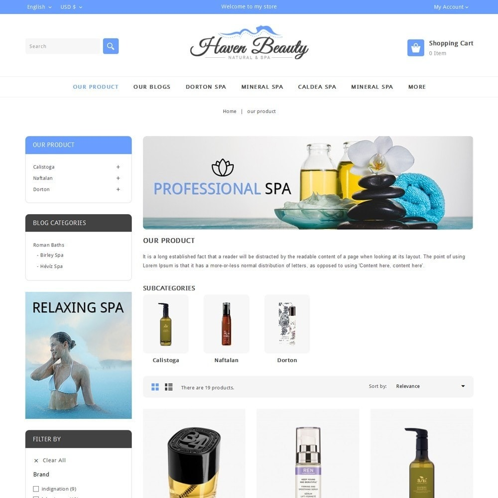 theme - Health & Beauty - Heaven Beauty - 4