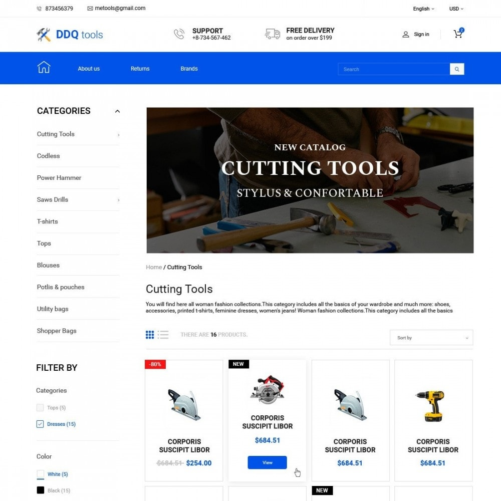 theme - Electronique & High Tech - MyTools  - Tools Store - 2