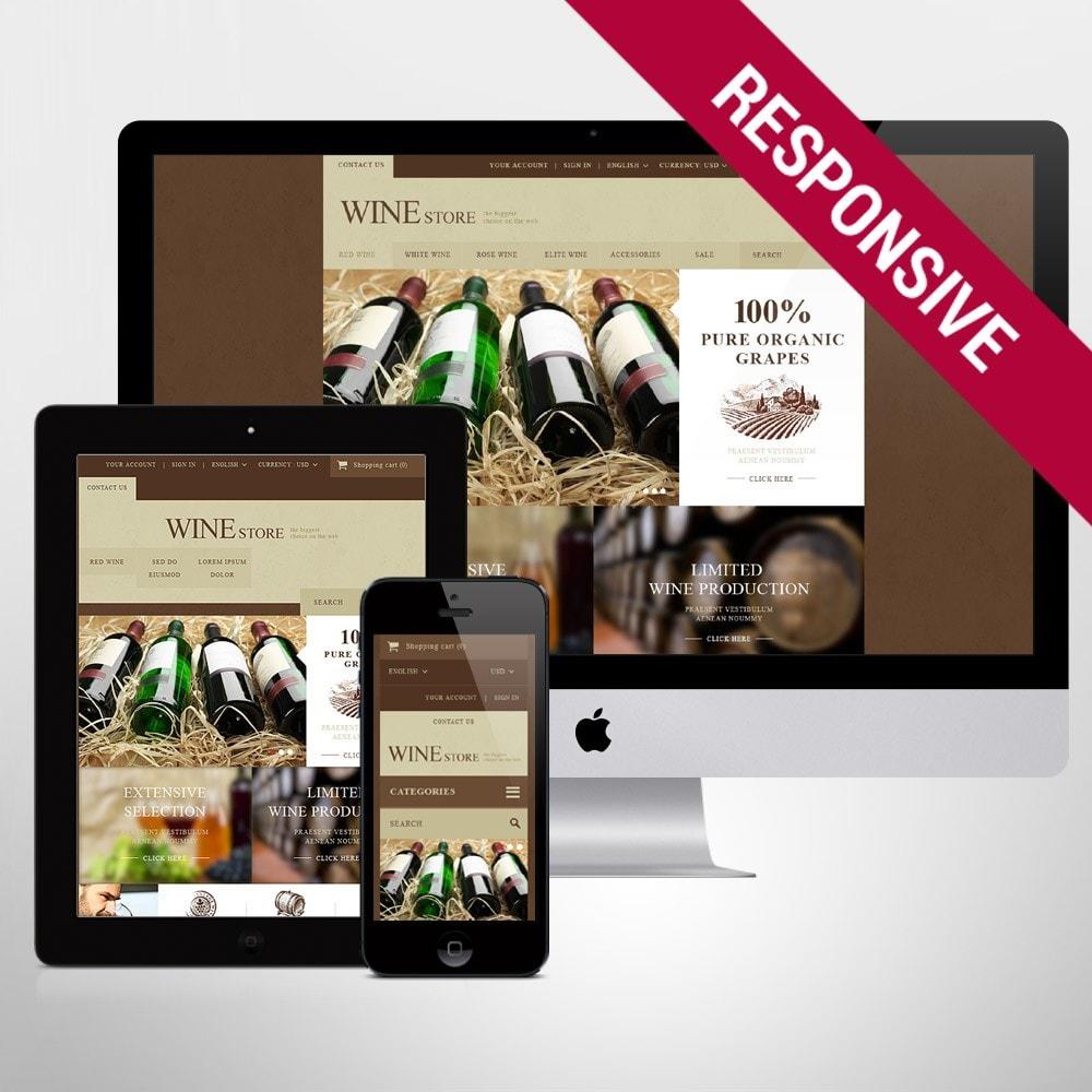theme - Alimentos & Restaurantes - Wine Store - 1