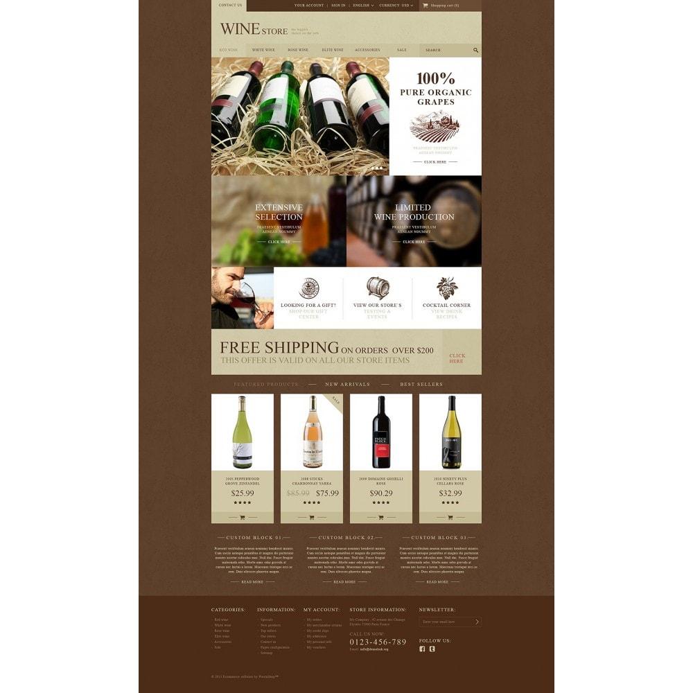 theme - Alimentos & Restaurantes - Wine Store - 2