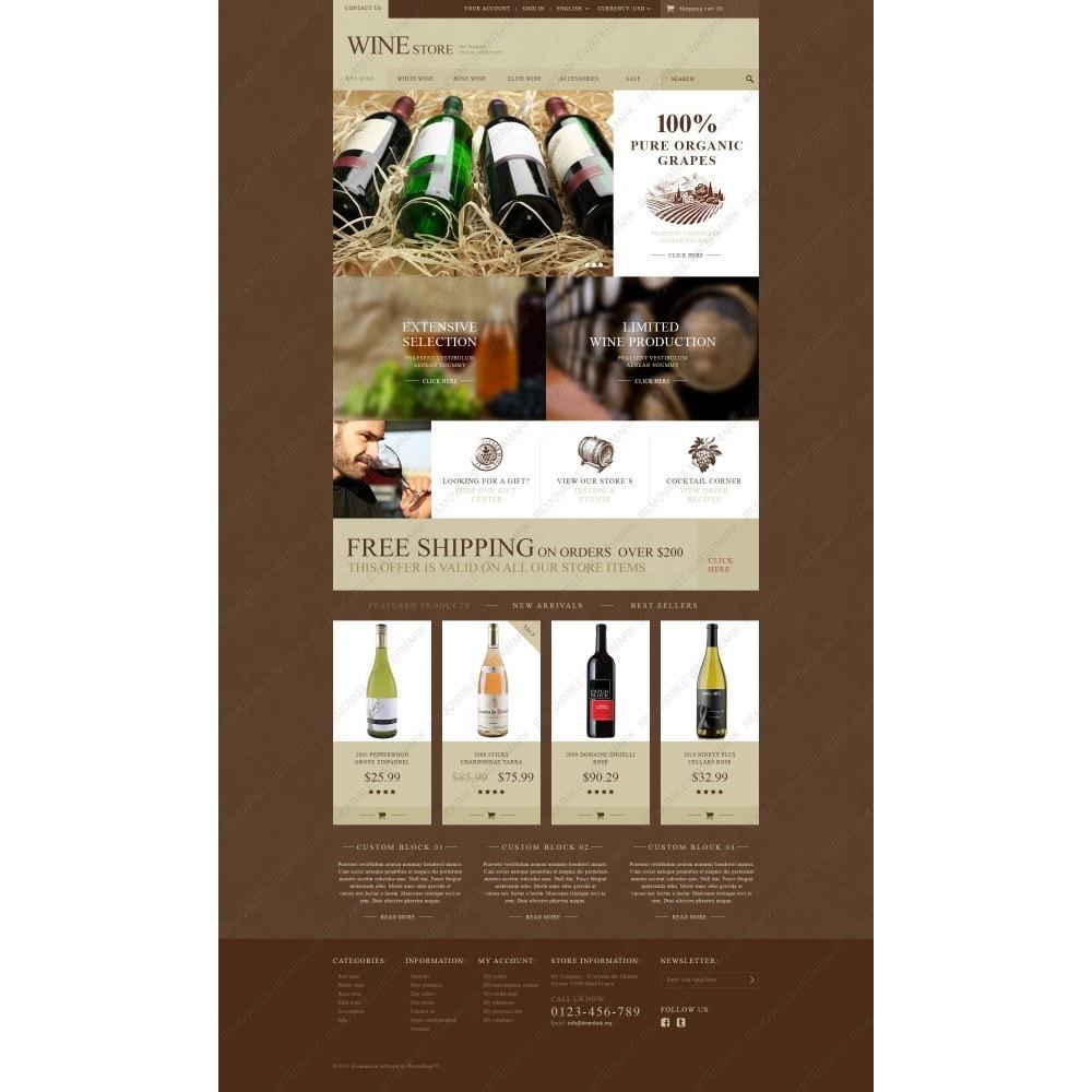 theme - Alimentos & Restaurantes - Wine Store - 3