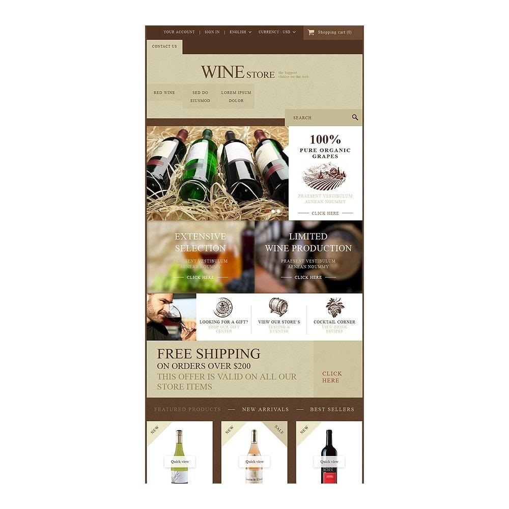 theme - Alimentos & Restaurantes - Wine Store - 7