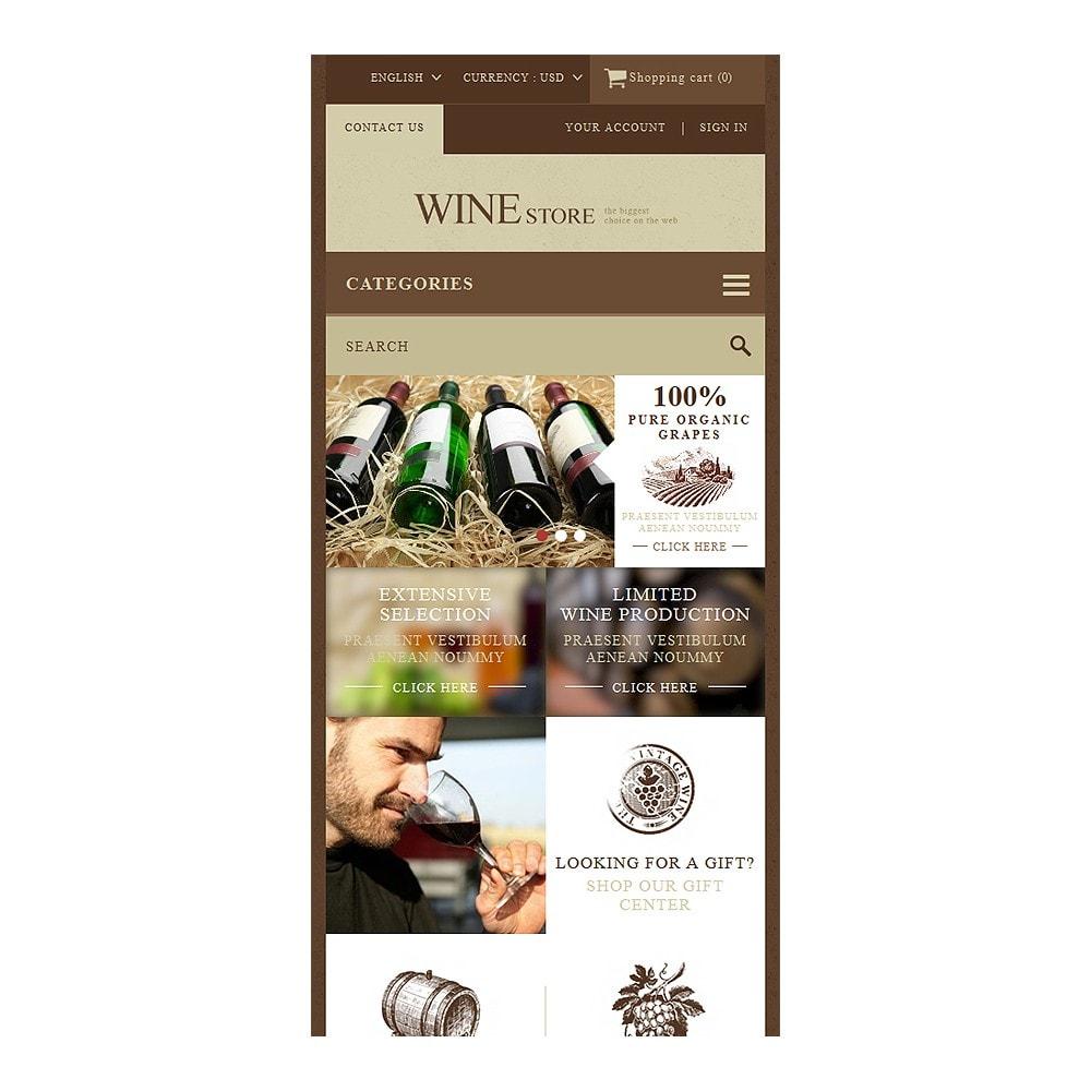 theme - Żywność & Restauracje - Wine Store - 8