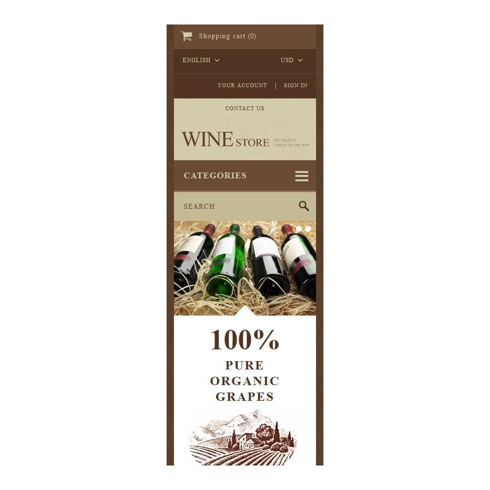 theme - Alimentos & Restaurantes - Wine Store - 9