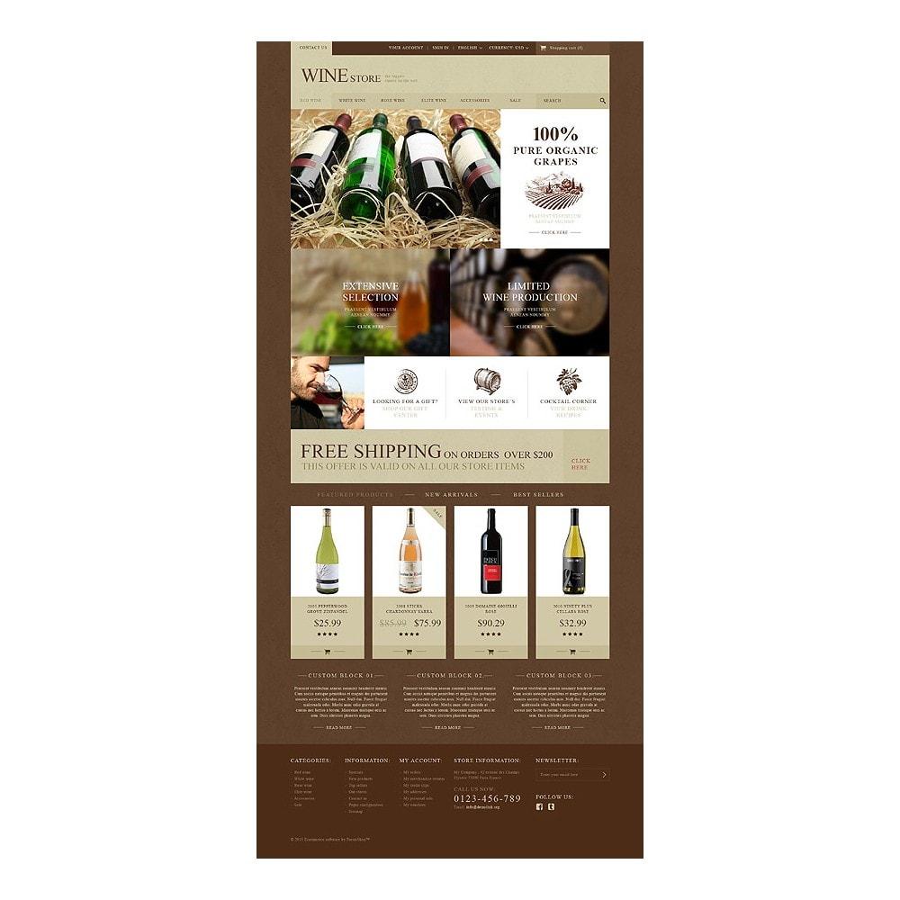 theme - Żywność & Restauracje - Wine Store - 10