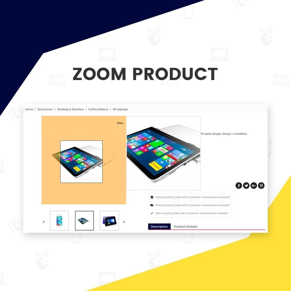 theme - Elektronica & High Tech - Ezone  – Electronic Super Store v3 - 6