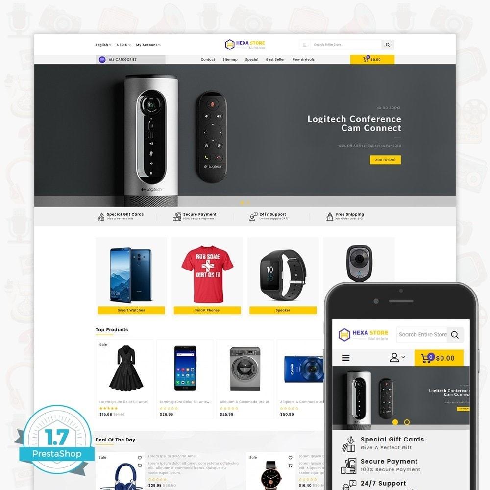 theme - Elektronik & High Tech - HexaStore - The MultiStore - 1