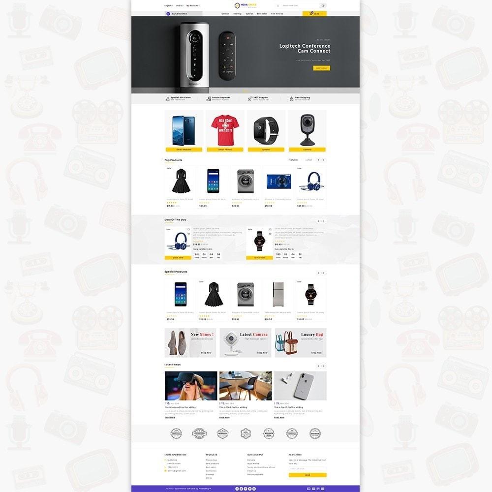 theme - Elektronik & High Tech - HexaStore - The MultiStore - 2